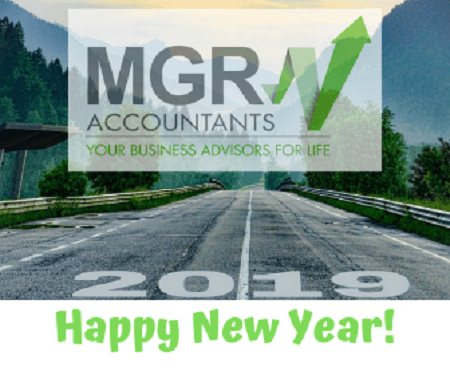 Happy New Year from MGR Accountants