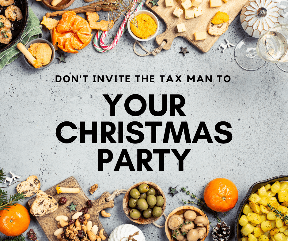 Don't Invite The Tax Man to Your Christmas Party