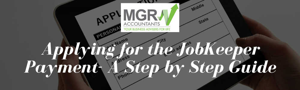Applying for the JobKeeper Payment- A Step by Step Guide