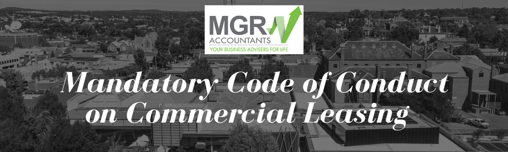 Mandatory Code of Conduct on Commercial Leasing